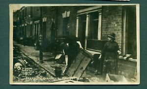 THE LOUTH DISASTER,MAY 29TH 1920 NO 9 ,vintage postcard