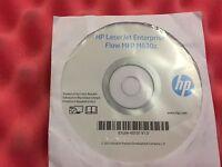 HP LASERJET ENTERPRISE FLOW M630Z CD Driver Software Disk HP ORIGINAL