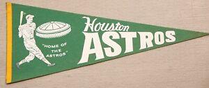 vintage Houston Astros pennant