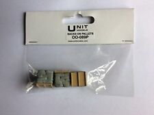 UNIT MODELS OO Gauge / 1.76 Scale OO - 089P  3 Pcs Sacks On Pallets (painted)