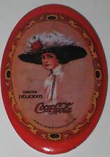 """Coca Cola Pocket Mirror #4 Approx 3"""" - Has Some Spots"""