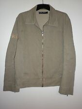 CTM DNM Ladies Jacket Denim Style in an Olive Green Size M