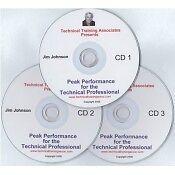 Peak Performance Program PEAK Performance Audio Book 3CDs by Jim Johnson