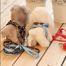 1PCBrand New Small Pet Dog Lead Leash harness Free Postage NO COLOR CHOICE!!