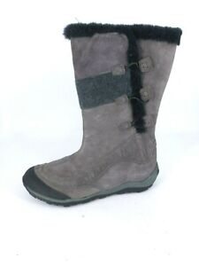 Ladies Caterpillar Molten Boots Dark Gull Grey UK 8 EU 41 JS24 33 SALEw