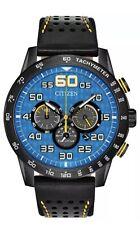 Citizen Eco-Drive Primo Blue Dial Leather Strap Men's Watch CA4435-08L