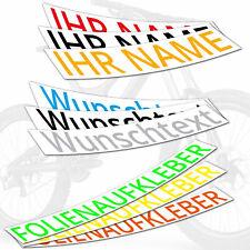 Aufkleber Beschriftung 20 cm - 200 cm Wunschtext Domain Text Autoaufkleber