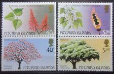Pitcairn 1987 Trees (2nd Series) Set. MNH.