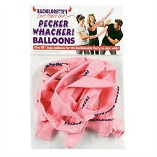 5 Pack Bachelorette Party LAST NIGHT OUT PECKER WHACKER BALLOONS Decoration