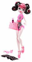Monster High Draculaura SWIM CLASS Sammlerpuppe SELTEN Y7303