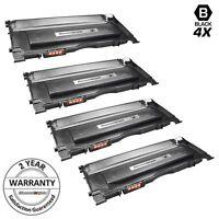 4PK CLT-K407S BLACK Toner for Samsung CLP-320 CLP-325 CLX-3180 CLX-3186 CLX-3185