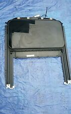 04 VW Volkswagen TOUAREG 3.2 Sun Roof Sunroof Assembly Glass Track Tan Shad OEM