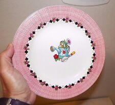 Sakura Stoneware Garden Time At Home With Mary Englebreit Four (4) Salad Plates