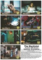 jeu de 7 Photos D'exploitations Cinéma du Film The Machinist De Brad Anderson