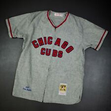 100% Authentic Ernie Banks Mitchell Ness 1957 Chicago Cubs Jersey Size 40 M Mens