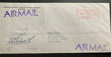 1956 Canadian Army PO 5051 In England Meter Cancel Airmail Cover To Toronto