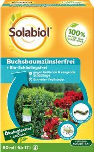 Buchsbaumzünsler Frei Solabiol 50 ml Biologisch beißende, saugende Schädlinge