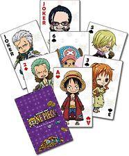ONE PIECE- PUNK HAZARD Spielkarten Poker offiziel lizenziert Manga