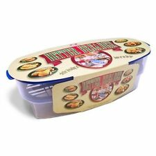 COOK'S CHOICE Original Better Breader Batter Bowl Snap-Lock Breading Container