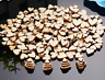 Wedding Table confetti Decorations Rustic Small Wooden Hearts craft ect 50-500