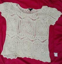 Ladies top crochet size S