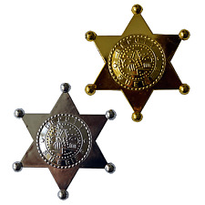 12 Deputy Sheriff Badges|CowGirl Party|Party Bag Fillers|Party Favours