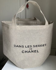 CHANEL Beauty Canvas Tote Bag Accessory Spring 2021 Brand New VIP