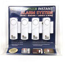 Innovage Home Wireless Door Window Entry Alarm 4 Pack Alert Cabinet Loud Sensor