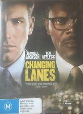 Changing Lanes Samuel L Jackson Ben Affleck Region 4 DVD VGC