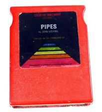 Commodore 64/128: Pipes - C64 Cartridge - Tested - Creative Software