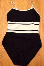 Resort - Black and White Swimming Costume - Size 16 - BNWT