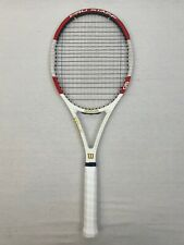 Wilson Pro Staff 90 2014, 4 3/8 Good Condition strung with Gut Poly