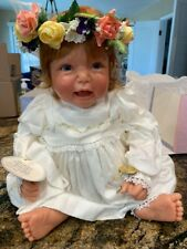 Lee Middleton Girl Baby Doll - Spring Time Beauty Signed by Reva Schick