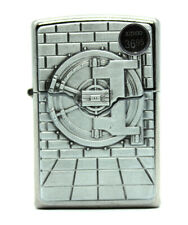 Zippo Safe With Gold Cash Surprise Lighter 29555 Street Chrome Classic Case