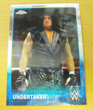 2015 TOPPS CHROME WWE BASE CARD THE UNDERTAKER WCW WRESTLEMANIA WWF NWA