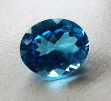 Gorgeous gem 5.74ct Oval top grade swiss blue Topaz - Bellissimo Topazio