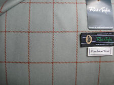 """100% PURE NEW WOOL TWEED MADE IN SCOTLAND BY """"Reid & Taylor"""" (Scotland) - 2.0 m"""