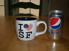 I LOVE SF - SAN FRANCISCO, CALIFORNIA, Ceramic Coffee Cup / Mug, Vintage