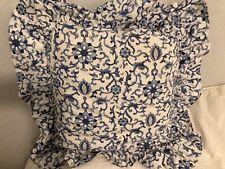 Two (2) Beautiful Ralph Lauren Pair Porcelain Rosette Asian Throw Pillows