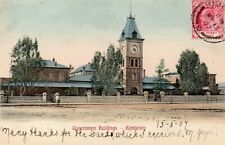 GOVERNMENT BUILDINGS  KIMBERLEY  SOUTH AFRICA  AFRICA  postally used 1907