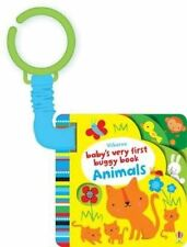 Baby's Very First Buggy Book Animals by Fiona Watt (Board book, 2015)