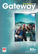 Macmillan GATEWAY B2+ 2nd Edition Student's Book Pack w Resource Centre Acc @NEW