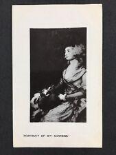 Vintage Postcard: #39: Painting Gainsborough Portrait Of Mrs Siddons: Boots