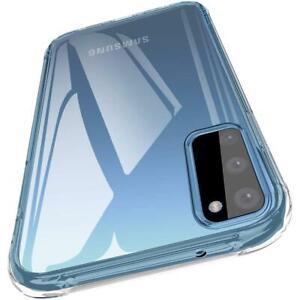 Samsung S20 transparente Hülle | transparent Case | Slim Cover Klare Schutzhülle