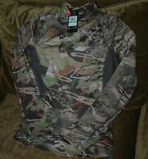 Under Armour Cold Gear Reactor camo hunting shirt women's large NEW with tags