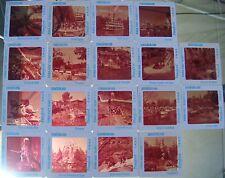 LOT 18 Original Walt-Disney Made 35mm Slides 50's Fantasy/Frontier/Tommorowland