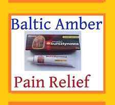 Pain Relief Painkiller Arthritis Muscle Joint Rub Thyroid Natural Amber Cream UK