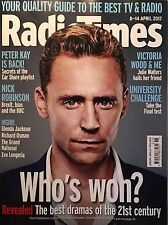 Radio Times Magazine Tom Hiddleston The Night Manager NEW