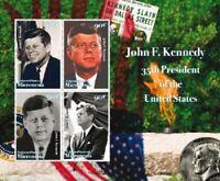 Micronesia - John F Kennedy Sheet of 4 Stamps - MNH