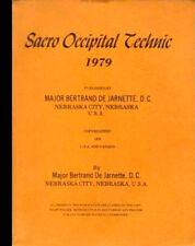 SACRO OCCIPITAL TECHNIC Massage Chiropractic Treatment Therapy = De Jarnette DC
